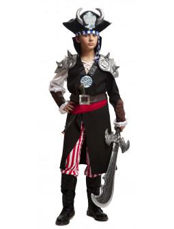 Disfraz de Pirata Demoníaco para Niño