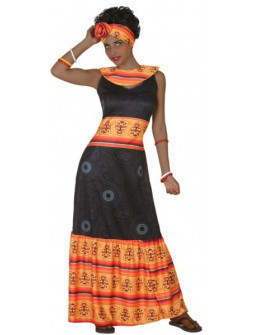 Disfraz de Africana Tribal para Mujer