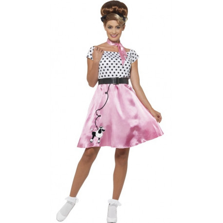 Disfraz de Señorita Años 50 para Mujer