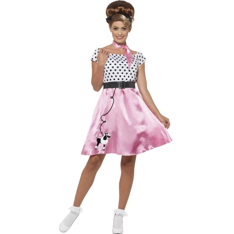 Disfraz de Señorita Años 50 para Mujer | Comprar Online
