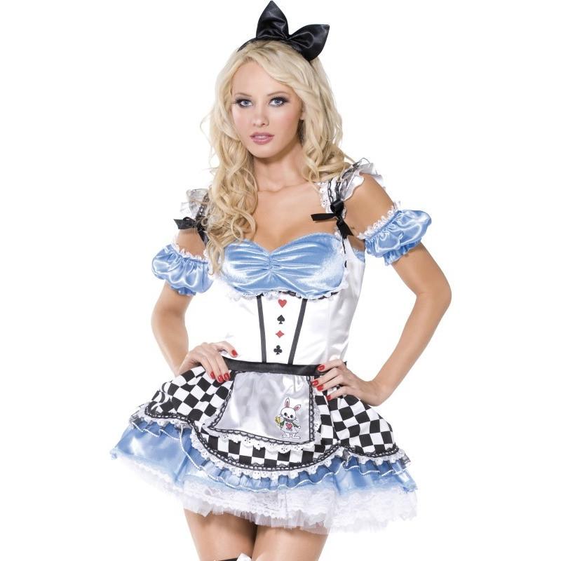Disfraz de Alicia en el País de Maravillas Erótico | Comprar
