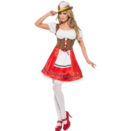 Disfraz de Tirolesa Oktoberfest para Mujer
