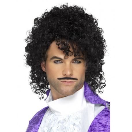 Peluca de Prince con Bigote