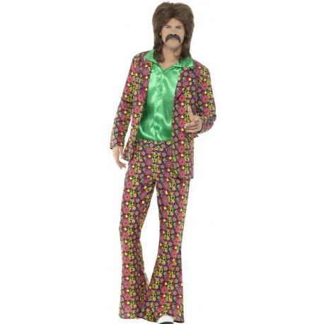Traje de Hippie Psicodélico para Hombre