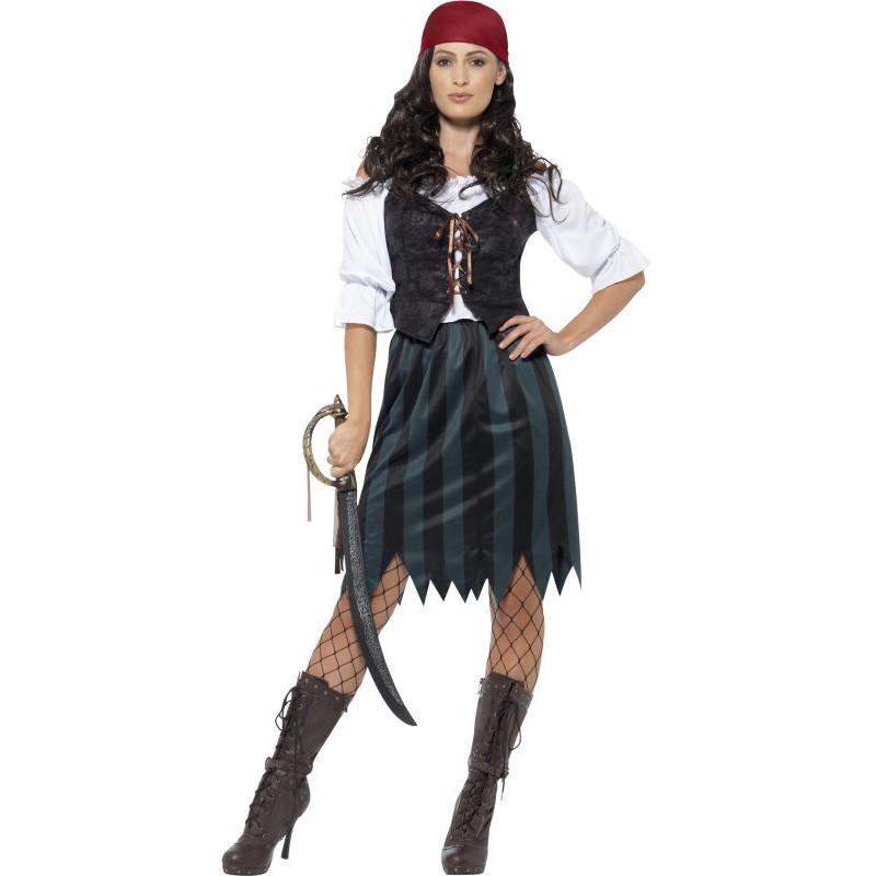 disfraces mujer piratas del caribe
