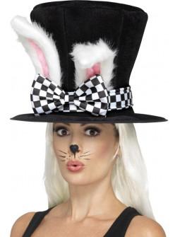 Sombrero con Orejas de Conejo