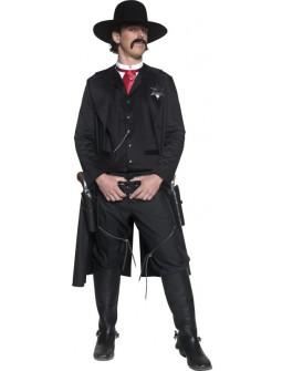 Disfraz de Sheriff Negro para Hombre