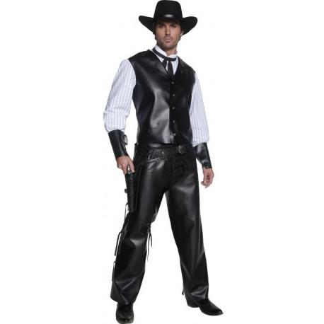 Disfraz de Forajido del Oeste para Hombre