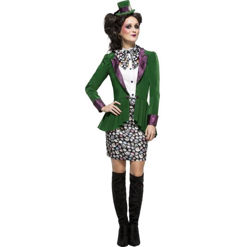 Disfraz de Sombrerera Excéntrica para Mujer  88dc20d2d6c6
