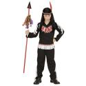 Disfraz de Niño Indio en negro