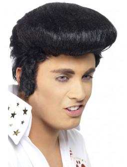 Peluca de Elvis Presley con Patillas