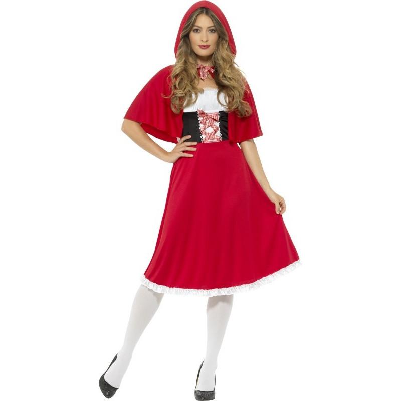 Disfraz de caperucita roja largo para mujer comprar online - Disfraz bebe caperucita roja ...