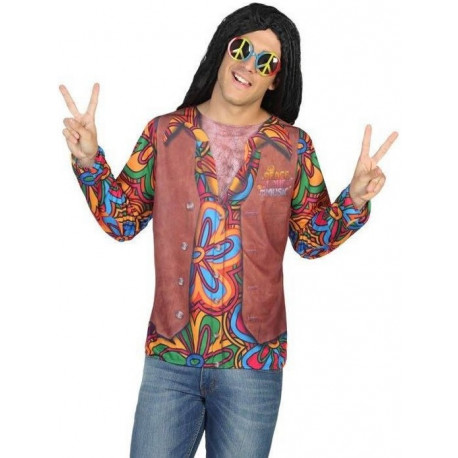 Camiseta de Hippie para Hombre