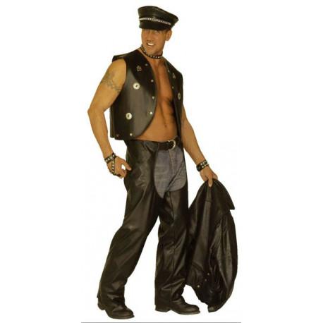 Pantalon imitacion de cuero