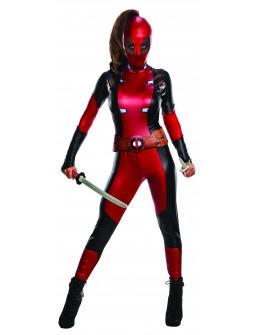 Disfraz de Deadpool Original para Mujer