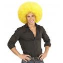 Peluca Super Afro Amarilla