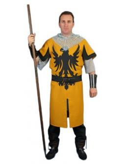 Traje Medieval Barbarroja con Águila Bordada