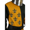 Tabardo Medieval Lancelot color Mostaza para Hombre