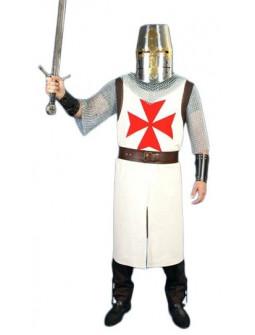 Traje Medieval de Caballero Templario para Hombre
