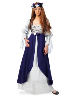 Disfraz de Dama Medieval Morado