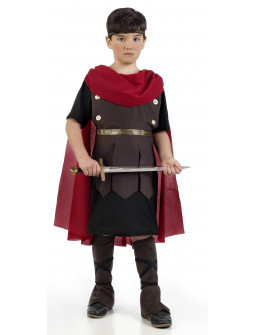Disfraz de Romano con Capa para Niño