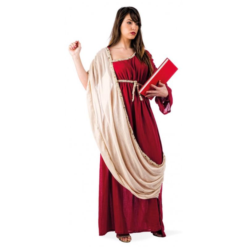 greco con Costume con tunica con greco tunica granato granato Costume greco Costume CoWrxBde