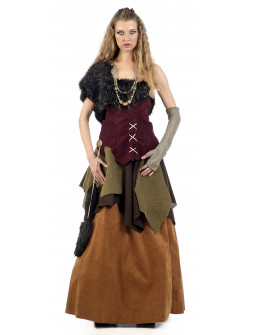Disfraz de Aldeana Medieval