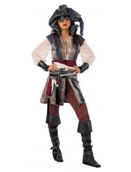 Disfraz de Corsaria Pirata Premium