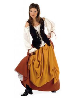 Disfraz de Campesina Medieval