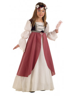 Disfraz de Clarisa Medieval Infantil