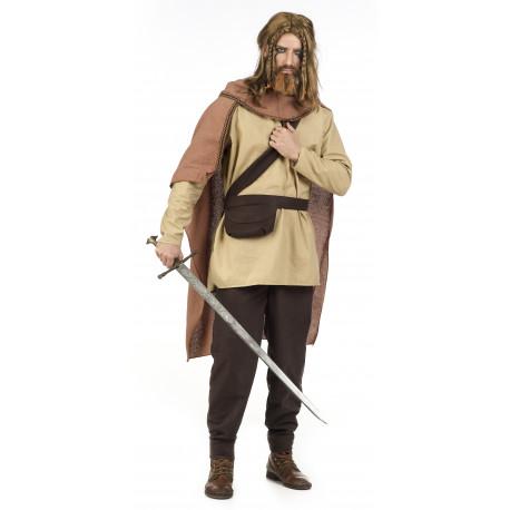 Disfraz de Guerrero Medieval con Capa
