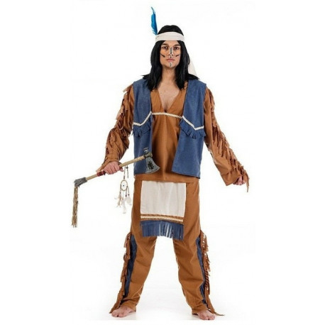 Disfraz de Indio Apache con Chaleco