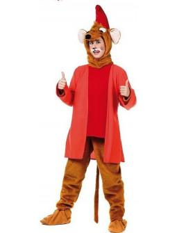 Disfraz de Ratón Cenicienta Rojo