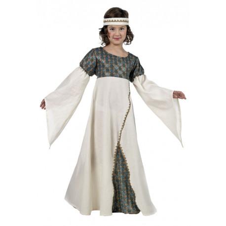 Disfraz de Princesa del Medievo para Niña