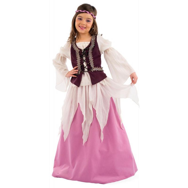 Disfraz de Princesa Medieval para Niñas |Comprar Online