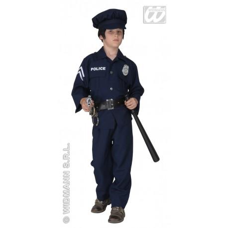 Disfraz de Policia con luz en el pecho