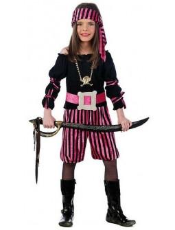 Disfraz de Pirata Bucanera Infantil