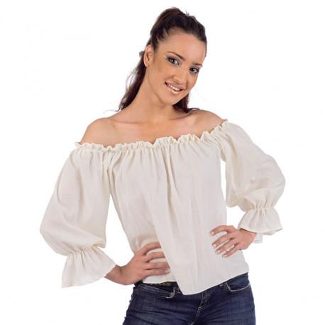 Camisa Medieval para Mujer