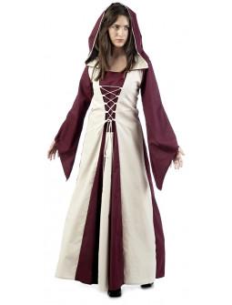 Disfraz de Hechicera Medieval Burdeos