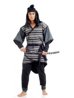 Disfraz de Samurai Premium para hombre