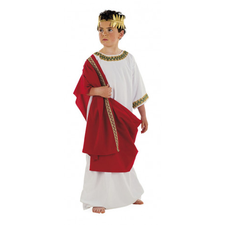 Disfraz de Romano con Toga para Niño