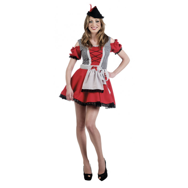 disfraz mujer tirolesa