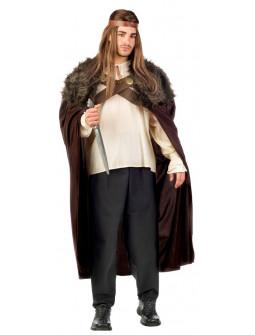 Disfraz de Guerrero Medieval Marrón