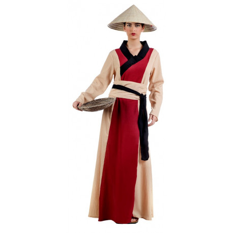 Disfraz de China Arrocera para Mujer