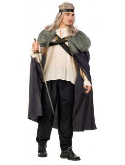 Disfraz de Guerrero Medieval Gris