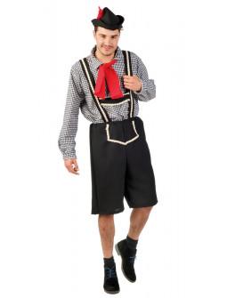 Disfraz de Tirolés Azul