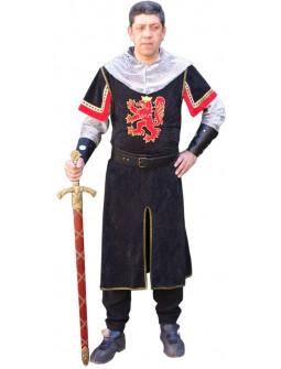 Disfraz de Caballero Escudo León