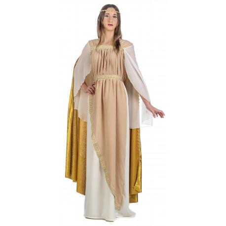 Disfraz de Noble Romana con Capa