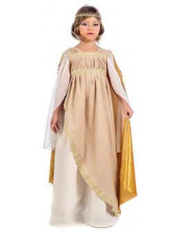 Disfraz de Romana con Capa para Niña