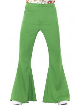 Pantalones de Campana Verdes